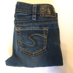 Aiko Bootcut Silver Jeans Co